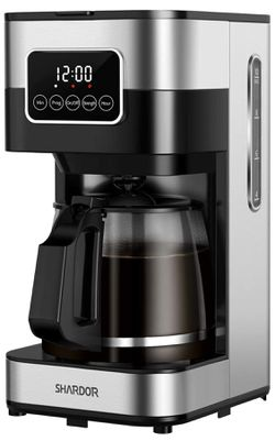 Drip Coffee Maker, Touch-Screen Programmable Coffee Machine, Automatic Start and Shut Off, Brew Strength Control, Warming Plate, 50.72oz(1.5L) for Sale in Orange,  CA