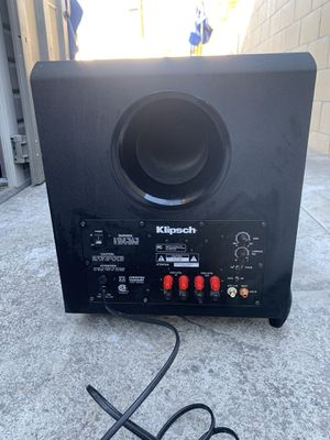 Klipsch Subwoofer Home Theater for Sale in Fountain Valley, CA