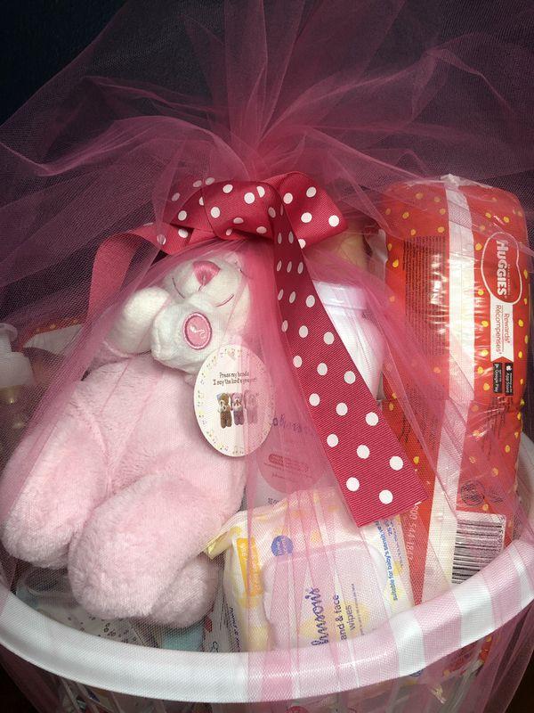 Custom made baby baskets