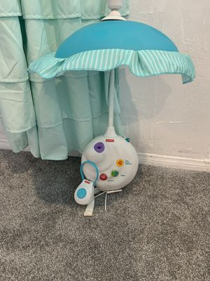 Fisher price 2-1 crib projector for Sale in Desert Hot Springs, CA