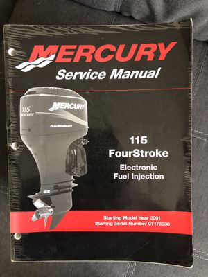 Mercury Marine Service Manuals / MerCruiser / MotorGuide (Lot of 34) for Sale in Land O Lakes, FL