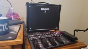 Boss katana 50 watt amp and boss me80 for Sale in Telford, TN
