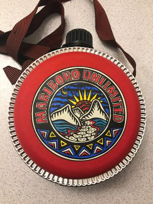 Marlboro Unlimited flask aztec design vintage for Sale in Lakewood, CO