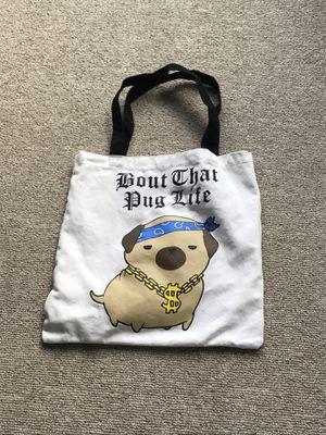 Pug Tote bag for Sale in Dallas, TX