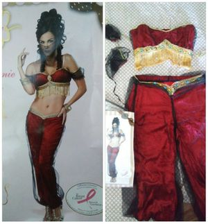 Halloween Ruby Red & Gold Genie Costume for Sale in Whittier, CA