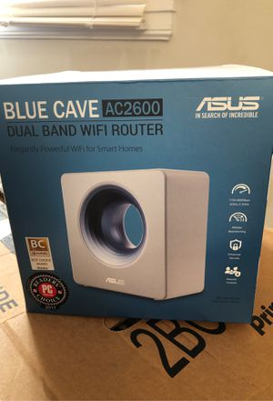 Asus blue cave ac2600 wifi router for Sale in San Mateo, CA
