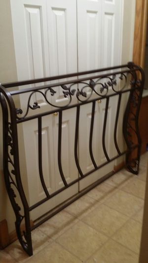 Ashley Furniture Queen metal bed frame for Sale in Waukesha, WI