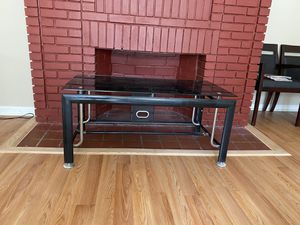 Black modern tv stand $60 for Sale in Washington, DC