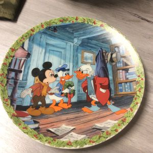 "Mickey's Christmas Carol ""What's So Merry About Christmas?"" Collector's Plate for Sale in Jackson Township, NJ"