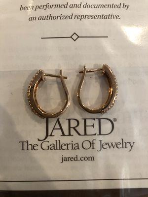 Rose Gold Hoop Earrings for Sale in Tampa, FL