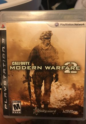 PS3 MODERN WARFARE 2 for Sale in Maple Valley, WA