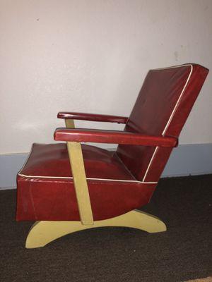 Mid Century Modern Child Kids Rocking Recline Chair Atomic Eames Danish Vintage for Sale in San Diego, CA
