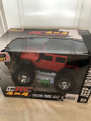 HUGE RC 4x4 Jeep Wrangler brand new unopened sealed box!! price is non negotiable for Sale in Edmonds, WA