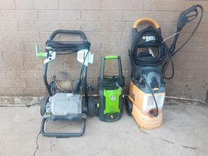 3 Pressure washer for Sale in Phoenix, AZ