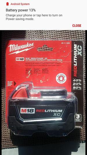 Milwaukee M18 battery 3.0 for Sale in Jacksonville, FL