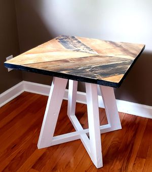 Handmade Tall Coffee Table (Reclaimed Wood) for Sale in Lincoln, NE