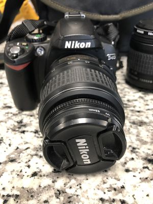 Nikon D40 Digital Camera with 2 Lenses and Bag #12479-1 for Sale in Chelsea, MA