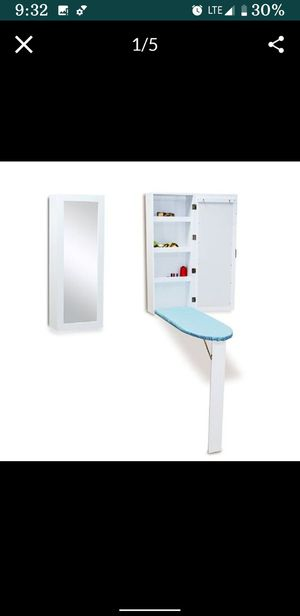 Wall Mount Hidden Ironing Board Mirror for Sale in Los Angeles, CA