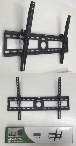 New in box 32 to 65 inches swivel full motion tv television wall mount bracket 120 lbs capacity with hardwares included for Sale in Whittier, CA