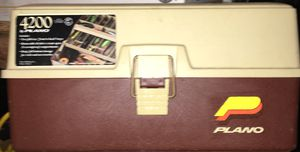 Vintage 4200 Plano Tackle box for Sale in Bronx, NY