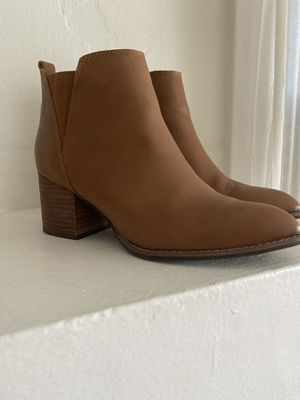 Anthropology camel booties size 7 for Sale in Signal Hill, CA