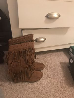 Fringe boots for Sale in Greensboro, NC