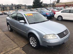 2002 Volkswagen Passat for Sale in Spanaway, WA
