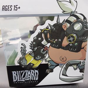 Brand NEW [collectable] great holiday gift or present Overwatch action figure Roadhog $25.00 for Sale in Brooklyn, NY