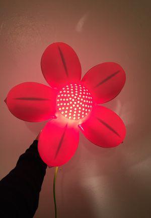 Flower wall lamp for Sale in Lemon Grove, CA
