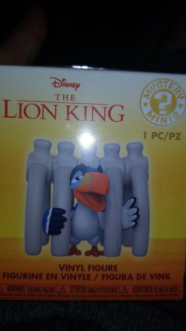 Disney the lion king zazu mystery mini