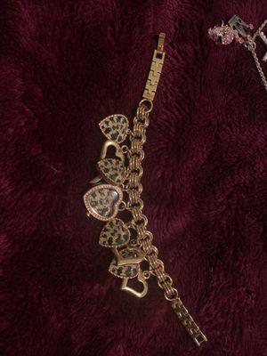 Betsy Johnson watch bracelet for Sale in Hillsboro, OR