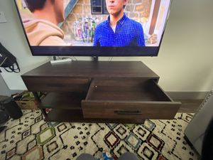 Tv stand with mount ability for Sale in Austin, TX