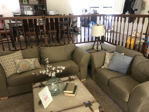 FREE couch set - gone today you pick up for Sale in Oak Glen, CA