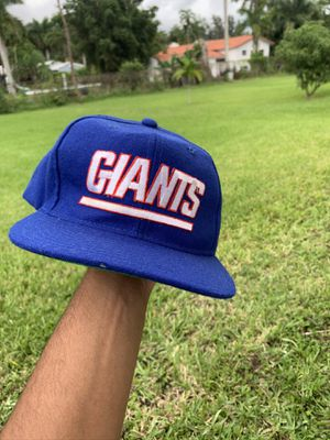 New York Giants vintage starter SnapBack for Sale in Miami Shores, FL