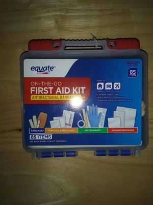 Equate On The Go First Aid Kit for Sale in Abilene, TX
