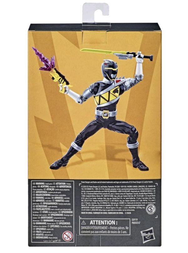 Power Rangers Lightning Collection Dino Charge Black Ranger