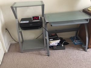 Computer table and shelves for Sale in Severna Park, MD