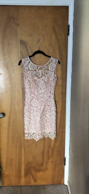 Francesa's romantic lacy blush minidress for Sale in Morton, IL