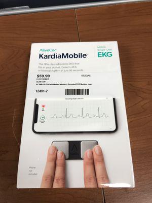 AliveCor KardiaMobile AC-009-UA-DI Wireless personal EKG Monitor for Sale in Revere, MA