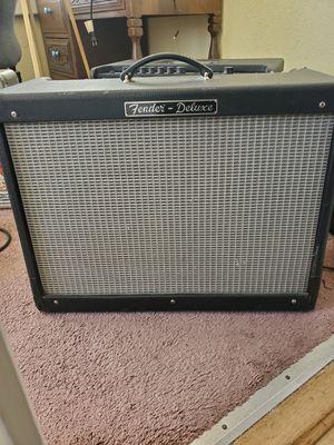 Fender Deluxe 1x12 guitar amp for Sale in Fresno, CA