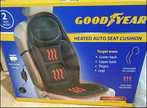 Goodyear Heated Auto Seat Cushion for Sale in San Jose, CA
