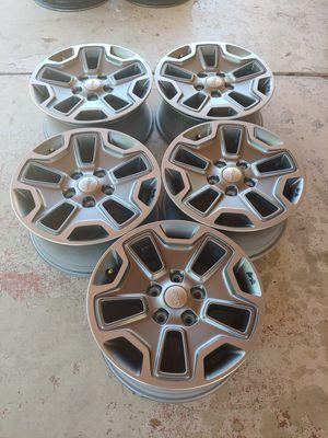 5 new jeep Rubicón wheels include tpms for Sale in Glendale, AZ