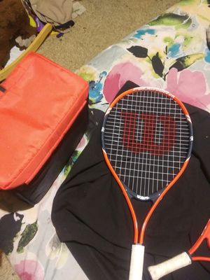 Wilson's federer25 tennis racket.and racketball racket for Sale in Tampa, FL