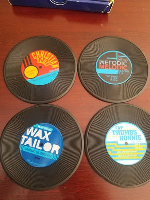 Record coasters set of 4 new $5 for Sale in Ontario, CA