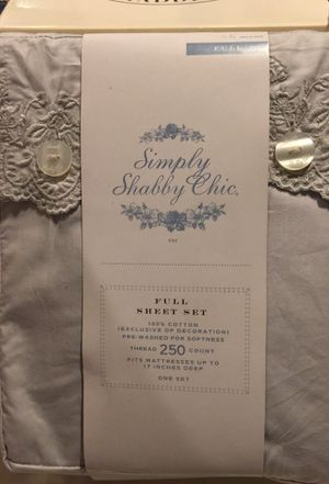 Simply Shabby Chic - Full Sheet Set for Sale in Olney, MD