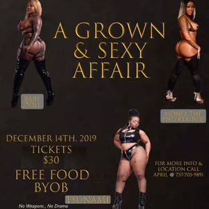 Grown & Sexy Party/Entertainment for Sale in Suffolk, VA