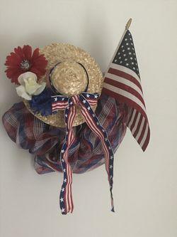 Patriotic Wreath for Sale in Martinsburg,  WV
