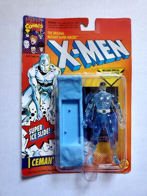 X-MEN ICEMAN MARVEL COMICS TOY BIZ ACTION FIGURE for Sale in Berkeley, CA