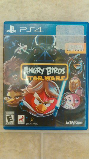 Star wars angry birds ps4 for Sale in Everett, WA