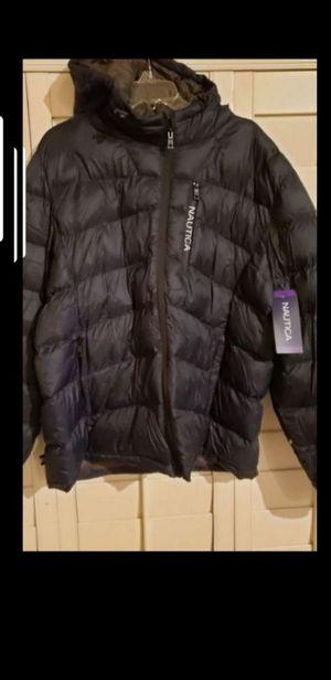 NEW Mens NAUTICA Down JACKET Coat w HOOD **MAKE an OFFER** Originally $225 for Sale in Las Vegas, NV